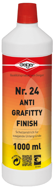 Geiger Anti Graffity Finish