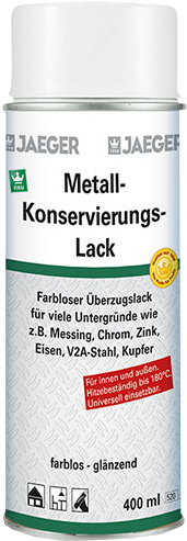Jaeger Metall-Konservierungslack-Spray