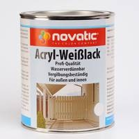 Novatic Acryl Weißlack