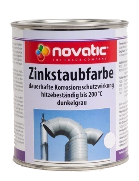 Novatic Zinkstaubfarbe